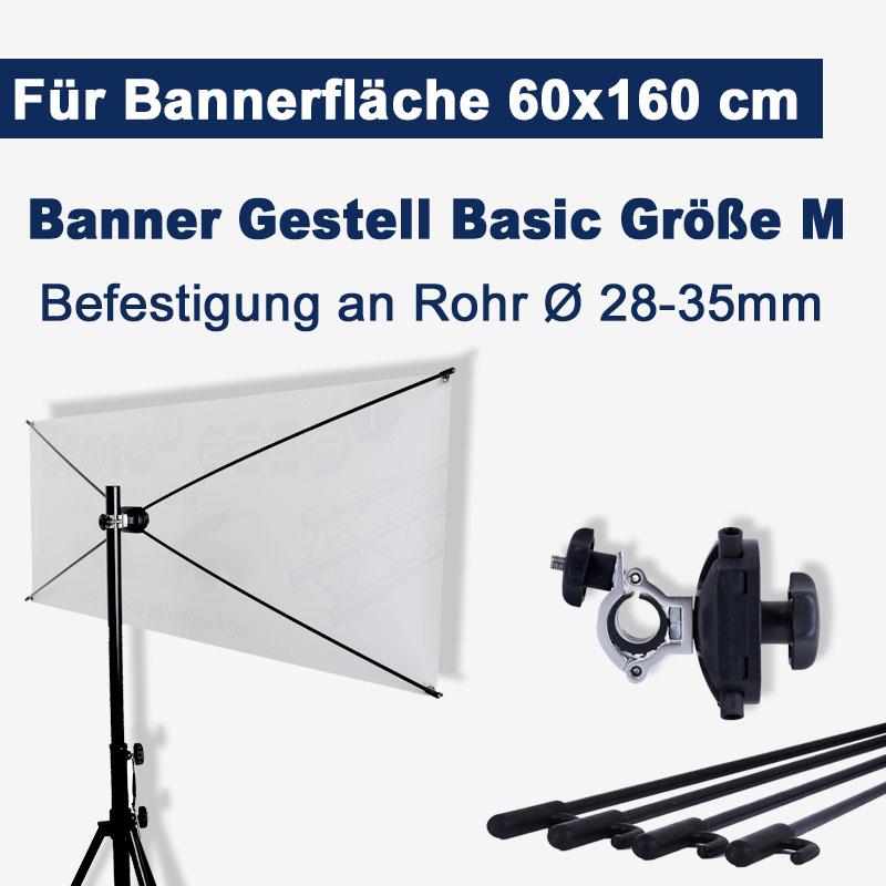 Banner Gestell Basic Göße M